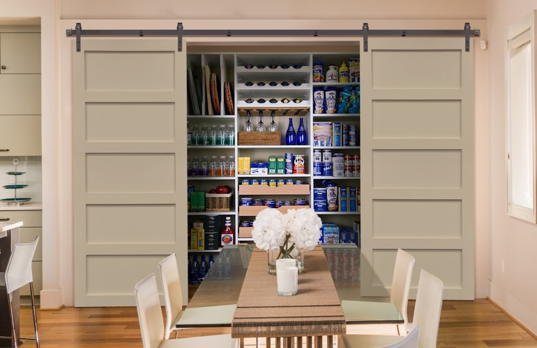Pantry Sliding Barn Doors In Charlotte, NC