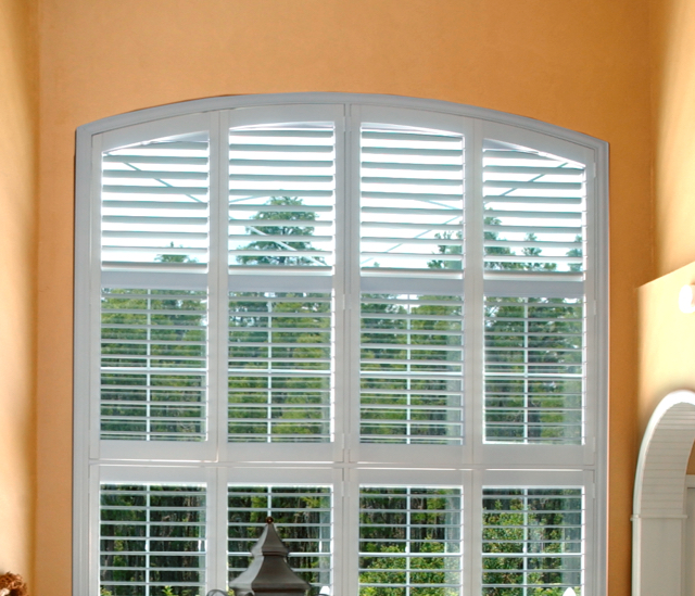 Arched Window Shutters In Charlotte, NC